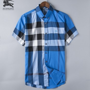 Burberry Shirts for Men's Burberry Shorts-Sleeved Shirts #999492