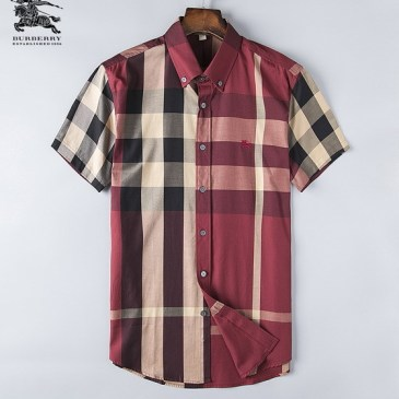 Burberry Shirts for Men's Burberry Shorts-Sleeved Shirts #999494