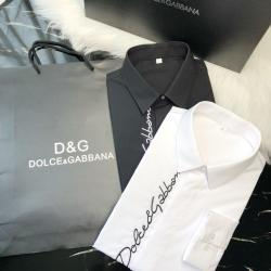D&G Shirts for D&G Long-Sleeved Shirts For Men #9124926