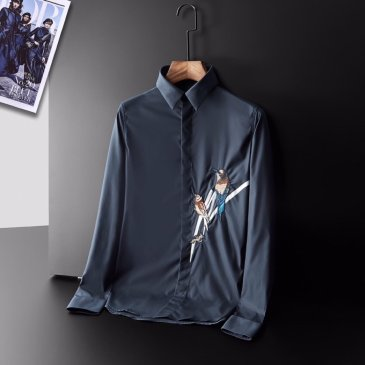 D&G Shirts for D&G Long-Sleeved Shirts For Men #9130886