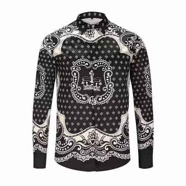 D&G Shirts for D&G Long-Sleeved Shirts For Men #99900595