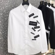 D&G Shirts for D&G Long-Sleeved Shirts For Men #99901043