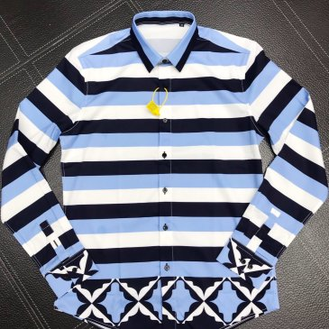 D&G Shirts for D&G Long-Sleeved Shirts For Men #99902077