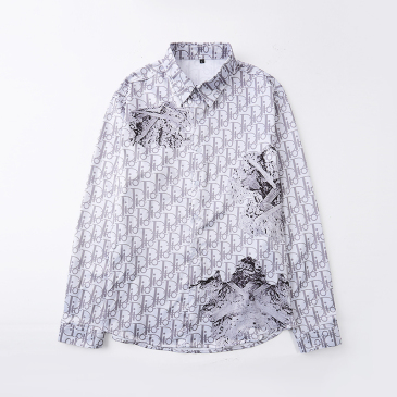 Dior shirts for Dior Long-Sleeved Shirts for men #99904057