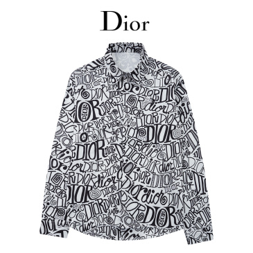 Dior shirts for Dior Long-Sleeved Shirts for men #999902592