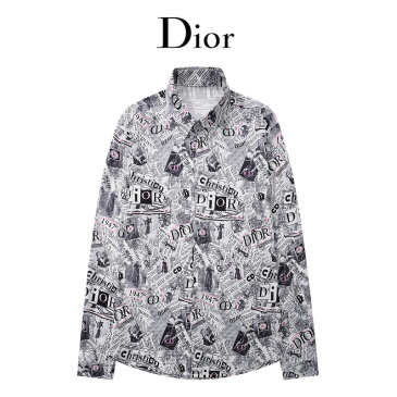 Dior shirts for Dior Long-Sleeved Shirts for men #999902600