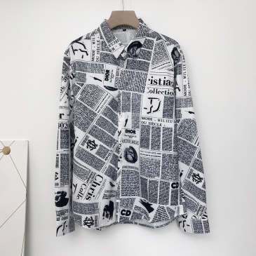 Dior shirts for Dior Long-Sleeved Shirts for men #999902617