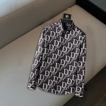 Dior shirts for Dior Long-Sleeved Shirts for men #999914496