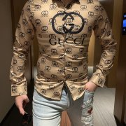 Gucci shirts for Gucci long-sleeved shirts for men #99116518