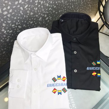 Gucci shirts for Gucci long-sleeved shirts for men #99901051