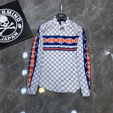 Gucci shirts for Gucci long-sleeved shirts for men #99904920