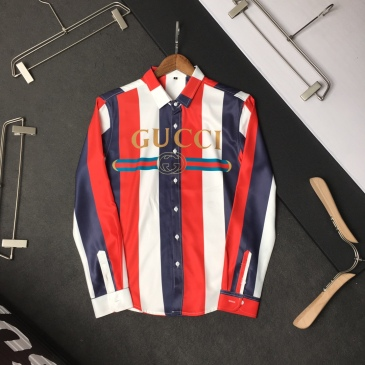 Gucci shirts for Gucci long-sleeved shirts for men #99904926