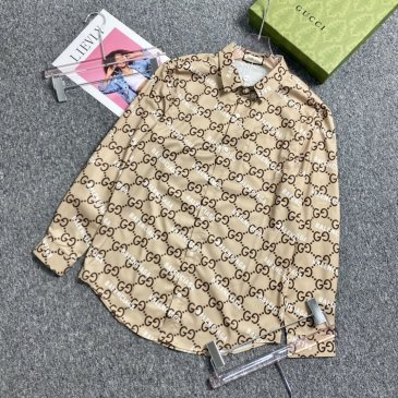 Gucci shirts for Gucci long-sleeved shirts for men #99906040