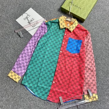 Gucci shirts for Gucci long-sleeved shirts for men #999901807