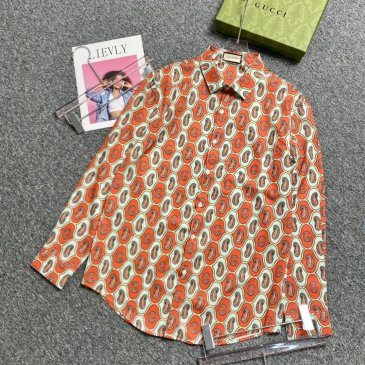 Gucci shirts for Gucci long-sleeved shirts for men #999901808
