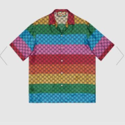 Gucci shirts for Gucci short-sleeved shirts for men #99903649