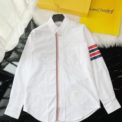 THOM BROWNE Shirts for THOM BROWNE Long-Sleeved Shirt for men #9125466