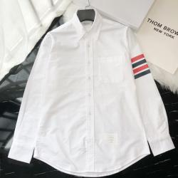 THOM BROWNE Shirts for THOM BROWNE Long-Sleeved Shirt for men #9125477