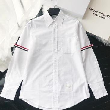 THOM BROWNE Shirts for THOM BROWNE Long-Sleeved Shirt for men #9125479
