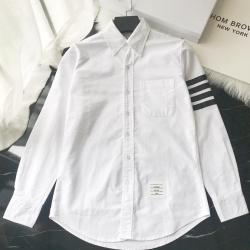 THOM BROWNE Shirts for THOM BROWNE Long-Sleeved Shirt for men #9125480
