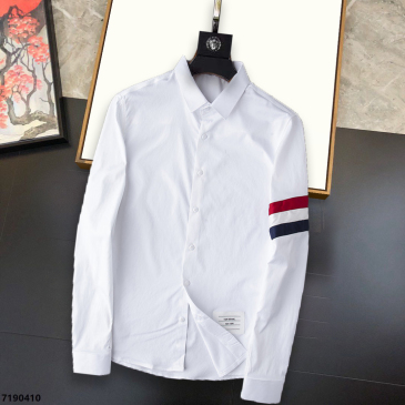 THOM BROWNE Shirts for THOM BROWNE Long-Sleeved Shirt for men #99874124