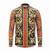 Versace Shirts for Versace Long-Sleeved Shirts for men #99900585