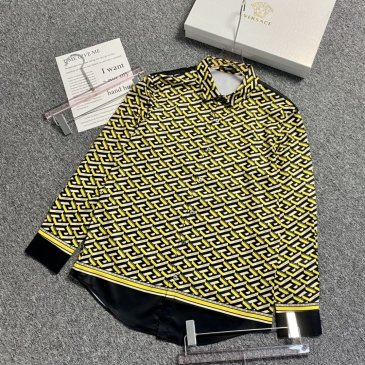 Versace Shirts for Versace Long-Sleeved Shirts for men #999901801