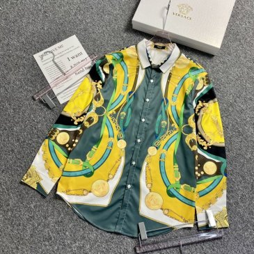 Versace Shirts for Versace Long-Sleeved Shirts for men #999901802