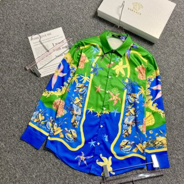 Versace Shirts for Versace Long-Sleeved Shirts for men #999901803