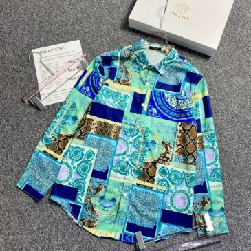 Versace Shirts for Versace Long-Sleeved Shirts for men #999901804
