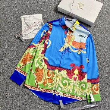 Versace Shirts for Versace Long-Sleeved Shirts for men #999901805