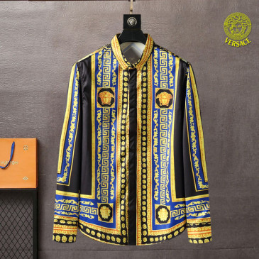 Versace Shirts for Versace Long-Sleeved Shirts for men #999901865