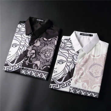Versace Shirts for Versace Long-Sleeved Shirts for men #999901870