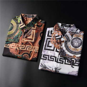 Versace Shirts for Versace Long-Sleeved Shirts for men #999901887