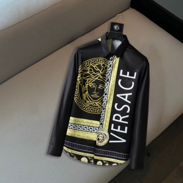 Versace Shirts for Versace Long-Sleeved Shirts for men #999914493