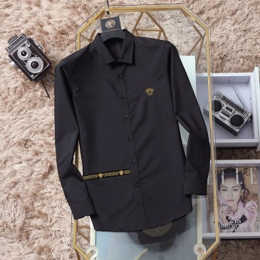Versace Shirts for Versace Long-Sleeved Shirts for men #999914505