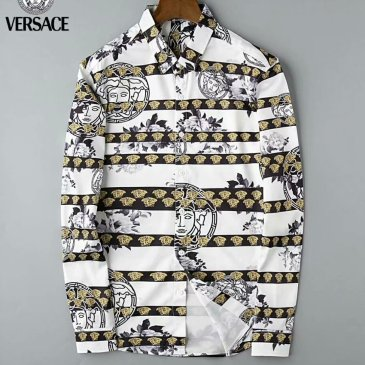 Versace Shirts for Versace Long-Sleeved Shirts for men #999914540