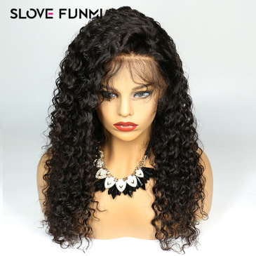 Hot Sale Europe and America wigs women's front lace chemical fiber long curly hair wig set factory spot wholesale LS-214 #9117088