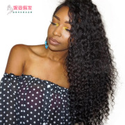 long curly hair black small volume front lace wig hand woven hood factory spot wholesale LS-030 #9116408