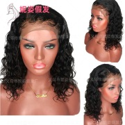 New European and American Wigs Women's Front Lace Chemical Fiber Long Straight Hair Wig Manufacturers Spot Wholesale 18 inches #99906986
