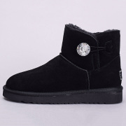 UGS Crystal Button WGG winter Australia Classic snow Boots fashion UGS tall shoes real leather Bailey Bowknot women bow Knee men sneakers #9109300