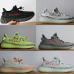 15 colors Best quality SPLY 350 V2 Butter Sesame Semi Frozen Blue Tint zebra Bred running shoes mens Sneakers US size 6-13 #9115388