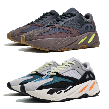 New 700 mauve running shoes best quality wave runner 700 Kanye West designer sneakers womens  boots US5-11.5 for Women and Men #9115396