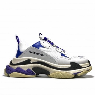 Balenciaga Unisex Shoes combination sole dirty old style Sneaker #9120082