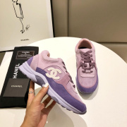 Unisex Ch*nl Sneakers high quality shoes #9122855