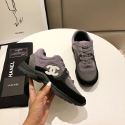 Unisex Ch*nl Sneakers high quality shoes #9122856