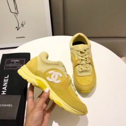Unisex Ch*nl Sneakers high quality shoes #9122857
