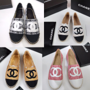 Chanel fisherman's shoes for Women's Chanel espadrilles #99116232