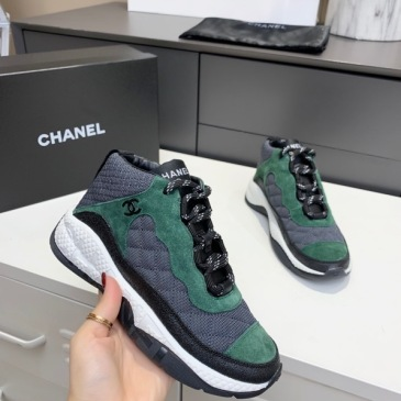 Chanel shoes for Women's Chanel Sneakers #999914213