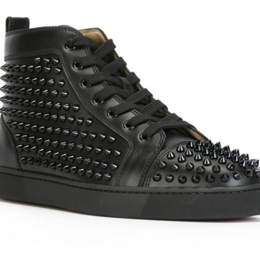 Fashion Designer Brand Studded Spikes Flats shoes Red Bottom Shoes For Men and Women Party Lovers Genuine Leather Sneakers #9102077
